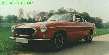 Volvo 1800 -- The Saint