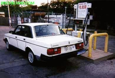 Volvo 240 -- Clean Machine